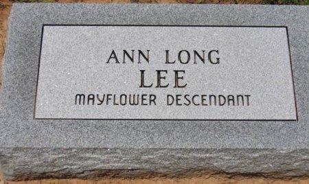LEE, ANN - Red River County, Texas | ANN LEE - Texas Gravestone Photos