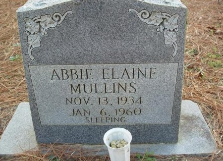 MULLINS, ABBIE ELAINE - Red River County, Texas | ABBIE ELAINE MULLINS - Texas Gravestone Photos