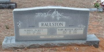 RAULSTON, MARY ROZELLE - Red River County, Texas | MARY ROZELLE RAULSTON - Texas Gravestone Photos