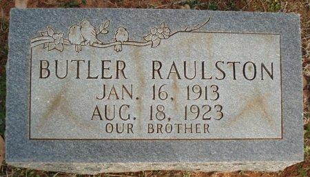 RAULSTON, BUTLER - Red River County, Texas   BUTLER RAULSTON - Texas Gravestone Photos