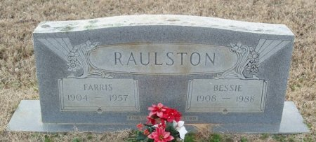 AMOS RAULSTON, BESSIE - Red River County, Texas | BESSIE AMOS RAULSTON - Texas Gravestone Photos