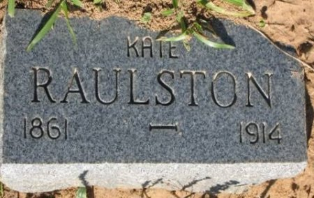 HUFFERD RAULSTON, KATE - Red River County, Texas | KATE HUFFERD RAULSTON - Texas Gravestone Photos