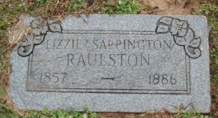 RAULSTON, LIZZIE - Red River County, Texas   LIZZIE RAULSTON - Texas Gravestone Photos