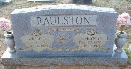 RAULSTON, WILLIE E - Red River County, Texas | WILLIE E RAULSTON - Texas Gravestone Photos