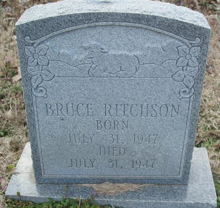 RITCHSON, BRUCE - Red River County, Texas | BRUCE RITCHSON - Texas Gravestone Photos