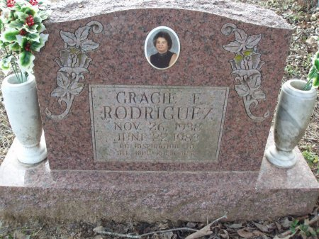 RODRIGUEZ, GRACIE E - Red River County, Texas | GRACIE E RODRIGUEZ - Texas Gravestone Photos