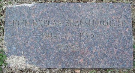 SHACKELFORD, SR, JOHN MORGAN - Red River County, Texas   JOHN MORGAN SHACKELFORD, SR - Texas Gravestone Photos