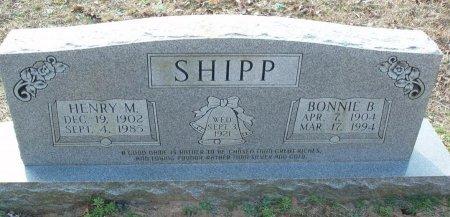 SHIPP, HENRY M - Red River County, Texas | HENRY M SHIPP - Texas Gravestone Photos
