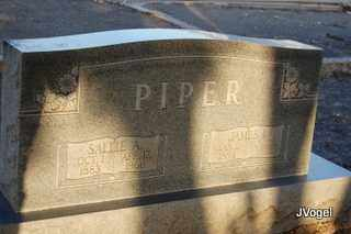PIPER, SALLIE ANGELINE - Rockwall County, Texas | SALLIE ANGELINE PIPER - Texas Gravestone Photos