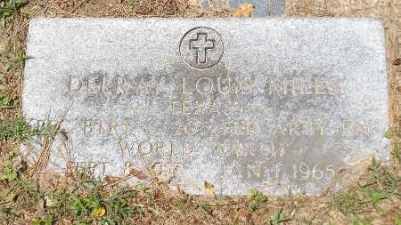 MILES (VETERAN WWII), DELRAY LOUIS - Rusk County, Texas | DELRAY LOUIS MILES (VETERAN WWII) - Texas Gravestone Photos