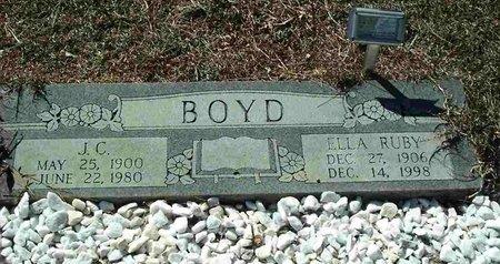 BOYD, J. C. - San Jacinto County, Texas | J. C. BOYD - Texas Gravestone Photos