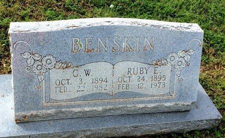 BENSKIN, RUBY E. - San Saba County, Texas   RUBY E. BENSKIN - Texas Gravestone Photos