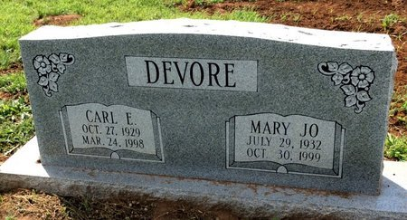 DEVORE, CARL E. - San Saba County, Texas | CARL E. DEVORE - Texas Gravestone Photos