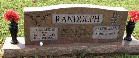RANDOLPH, CHARLES W. - San Saba County, Texas   CHARLES W. RANDOLPH - Texas Gravestone Photos