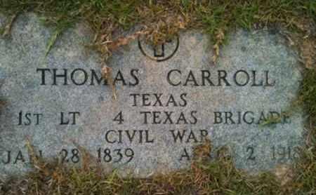 CARROLL (VETERAN CSA ), THOMAS - Shelby County, Texas | THOMAS CARROLL (VETERAN CSA ) - Texas Gravestone Photos