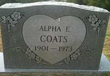 COATS, ALPHA ELIZABETH - Shelby County, Texas | ALPHA ELIZABETH COATS - Texas Gravestone Photos