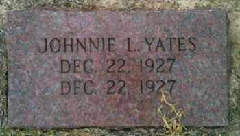 YATES, JOHNNIE L - Shelby County, Texas | JOHNNIE L YATES - Texas Gravestone Photos