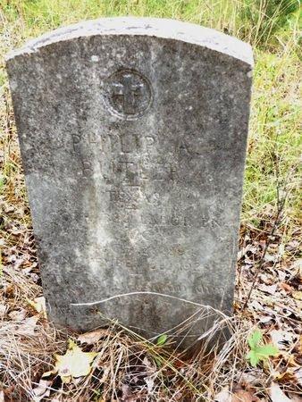 BUTLER(VETERAN WWI), PHILIP A - Smith County, Texas   PHILIP A BUTLER(VETERAN WWI) - Texas Gravestone Photos