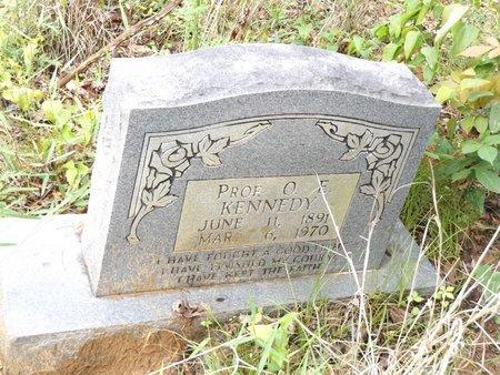 KENNEDY, PROF. O.E. - Smith County, Texas | PROF. O.E. KENNEDY - Texas Gravestone Photos
