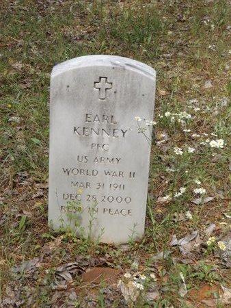 KENNEY (VETERAN WWLL), EARL - Smith County, Texas   EARL KENNEY (VETERAN WWLL) - Texas Gravestone Photos