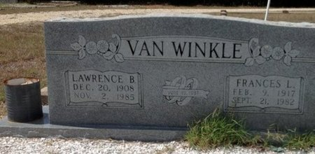 VAN WINKLE, FRANCES LEETA - Somervell County, Texas | FRANCES LEETA VAN WINKLE - Texas Gravestone Photos