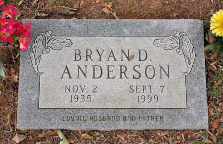 ANDERSON, BRYAN DICK - Tarrant County, Texas | BRYAN DICK ANDERSON - Texas Gravestone Photos