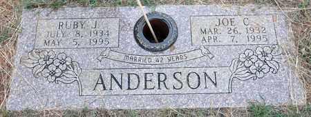 ANDERSON, RUBY J - Tarrant County, Texas | RUBY J ANDERSON - Texas Gravestone Photos