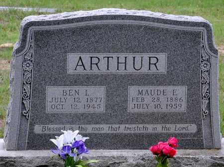 ARTHUR, MAUDE ESTELLE - Tarrant County, Texas | MAUDE ESTELLE ARTHUR - Texas Gravestone Photos