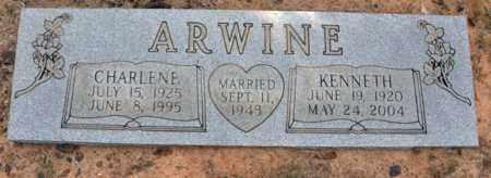 ARWINE, KENNETH - Tarrant County, Texas | KENNETH ARWINE - Texas Gravestone Photos
