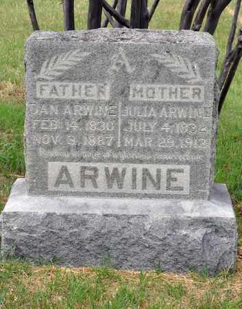 ARWINE, DANIEL - Tarrant County, Texas | DANIEL ARWINE - Texas Gravestone Photos