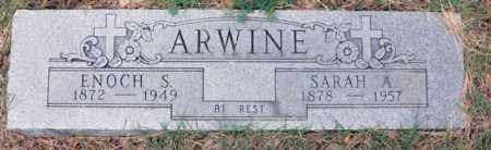 ARWINE, ENOCH SEXTON - Tarrant County, Texas | ENOCH SEXTON ARWINE - Texas Gravestone Photos