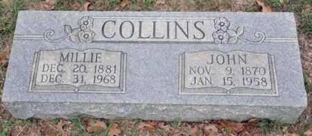 COLLINS, MILLIE - Tarrant County, Texas | MILLIE COLLINS - Texas Gravestone Photos
