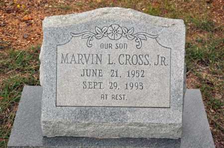 CROSS, JR, MARVIN L - Tarrant County, Texas | MARVIN L CROSS, JR - Texas Gravestone Photos