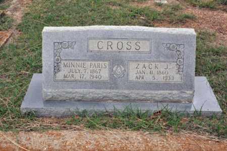 CROSS, ZACHARIAH JACKSON - Tarrant County, Texas | ZACHARIAH JACKSON CROSS - Texas Gravestone Photos