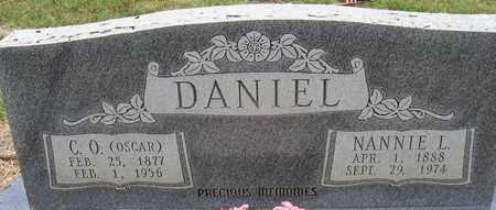 DANIEL, NANNIE - Tarrant County, Texas   NANNIE DANIEL - Texas Gravestone Photos