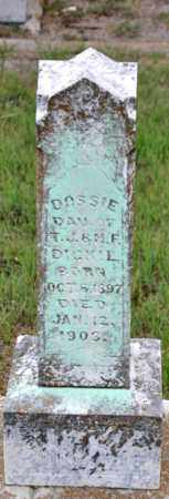 DICKIE, DOSSIE - Tarrant County, Texas   DOSSIE DICKIE - Texas Gravestone Photos
