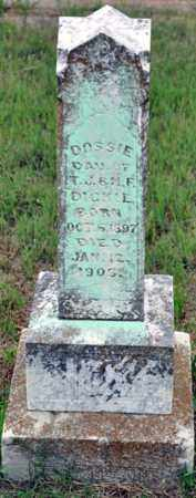 DICKIE, DOSSIE - Tarrant County, Texas | DOSSIE DICKIE - Texas Gravestone Photos