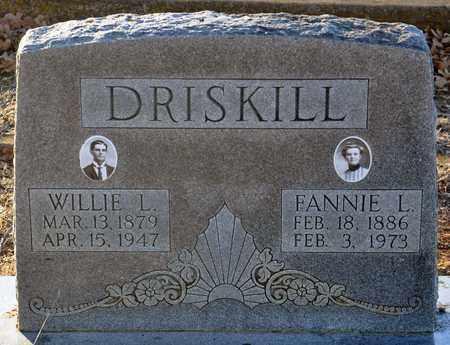 DRISKILL, FANNIE LOUISE - Tarrant County, Texas | FANNIE LOUISE DRISKILL - Texas Gravestone Photos