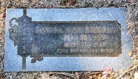 DRISKILL, SANDRA ANN - Tarrant County, Texas | SANDRA ANN DRISKILL - Texas Gravestone Photos