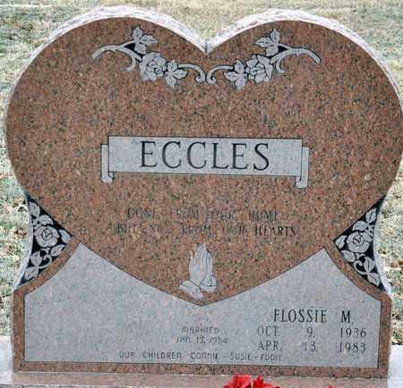 ECCLES, FLOSSIE M - Tarrant County, Texas   FLOSSIE M ECCLES - Texas Gravestone Photos
