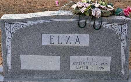 ELZA, JESSE CALVIN - Tarrant County, Texas | JESSE CALVIN ELZA - Texas Gravestone Photos