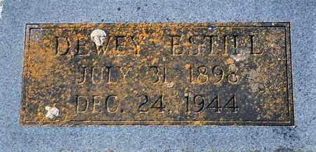 ESTILL, DEWEY - Tarrant County, Texas | DEWEY ESTILL - Texas Gravestone Photos