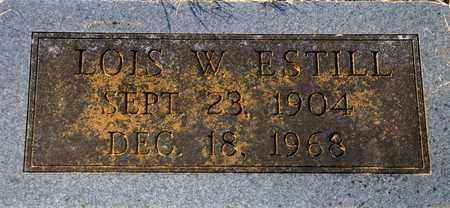 WHITEHEAD ESTILL, LOIS - Tarrant County, Texas | LOIS WHITEHEAD ESTILL - Texas Gravestone Photos
