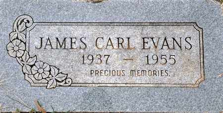 EVANS, JAMES CARL - Tarrant County, Texas | JAMES CARL EVANS - Texas Gravestone Photos