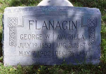 FLANAGIN, GEORGE WASHINGTON - Tarrant County, Texas | GEORGE WASHINGTON FLANAGIN - Texas Gravestone Photos
