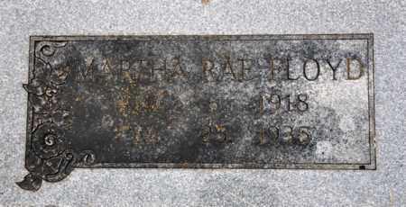 FLOYD, MARTHA RAE - Tarrant County, Texas | MARTHA RAE FLOYD - Texas Gravestone Photos