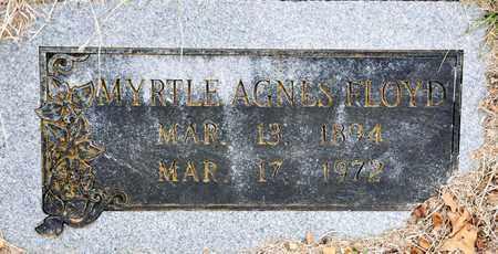 FLOYD, MYRTLE AGNES - Tarrant County, Texas | MYRTLE AGNES FLOYD - Texas Gravestone Photos