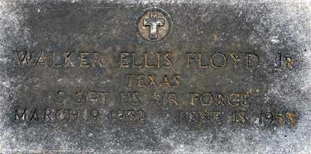 FLOYD, JR.  (VETERAN), WALKER ELLIS - Tarrant County, Texas | WALKER ELLIS FLOYD, JR.  (VETERAN) - Texas Gravestone Photos