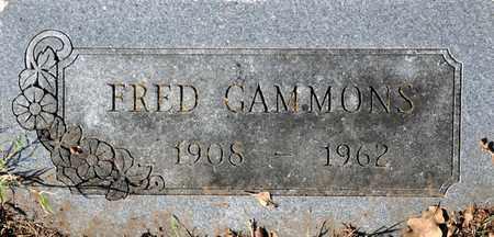GAMMONS, JAMES FREDERICK - Tarrant County, Texas | JAMES FREDERICK GAMMONS - Texas Gravestone Photos