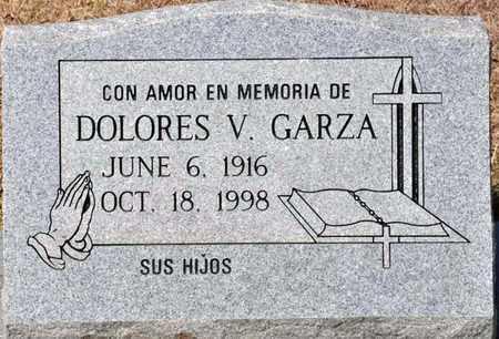 GARZA, DOLORES V - Tarrant County, Texas | DOLORES V GARZA - Texas Gravestone Photos